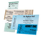 Admission Tickets