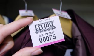 Coat Check Ticket – Two-part