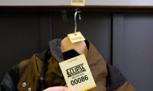 Coat Check Ticket – Three-part
