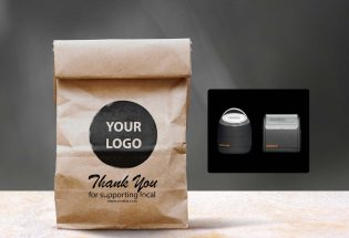 custom stamp packaging small business