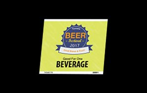 Food & Beverage Ticket – Single – Full Colour