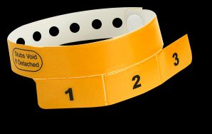 3-Stub Wristbands
