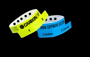 2-Stub Wristbands