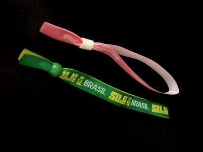 custom festival wristbands - fabric wristbands