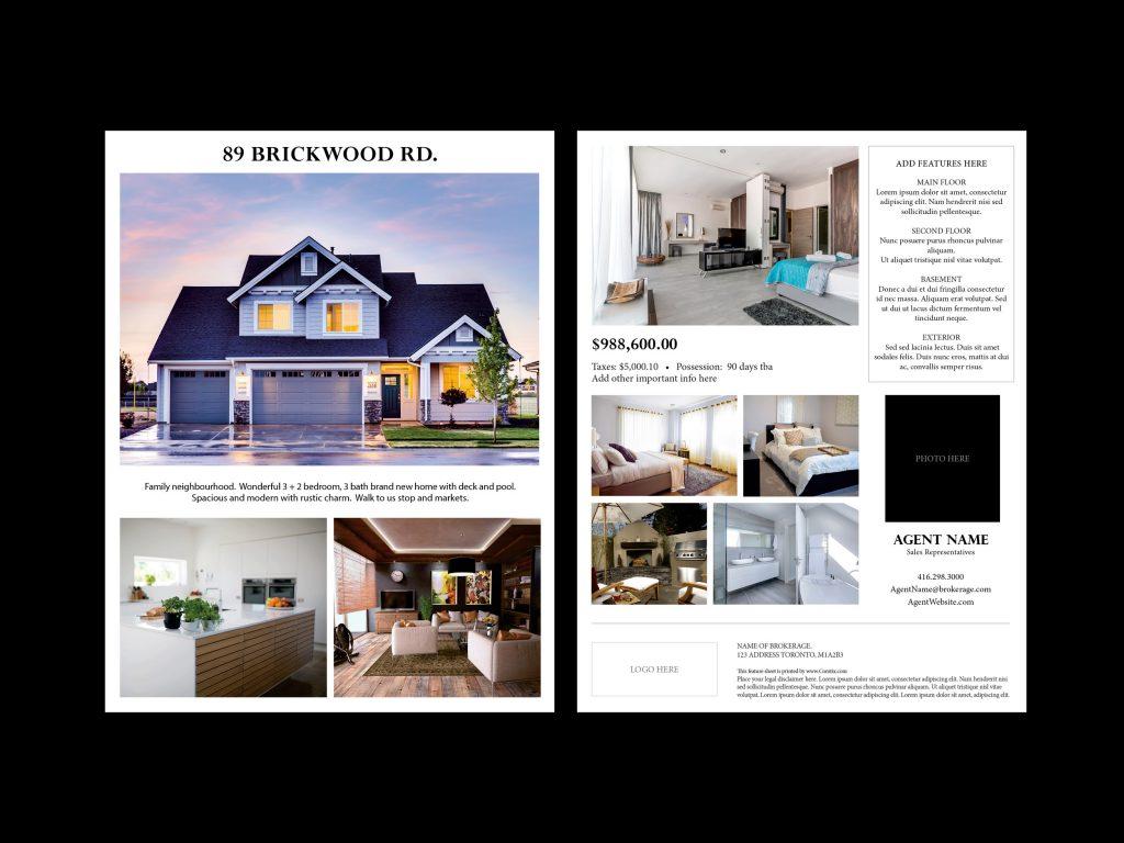 Feature sheet template 1 sample