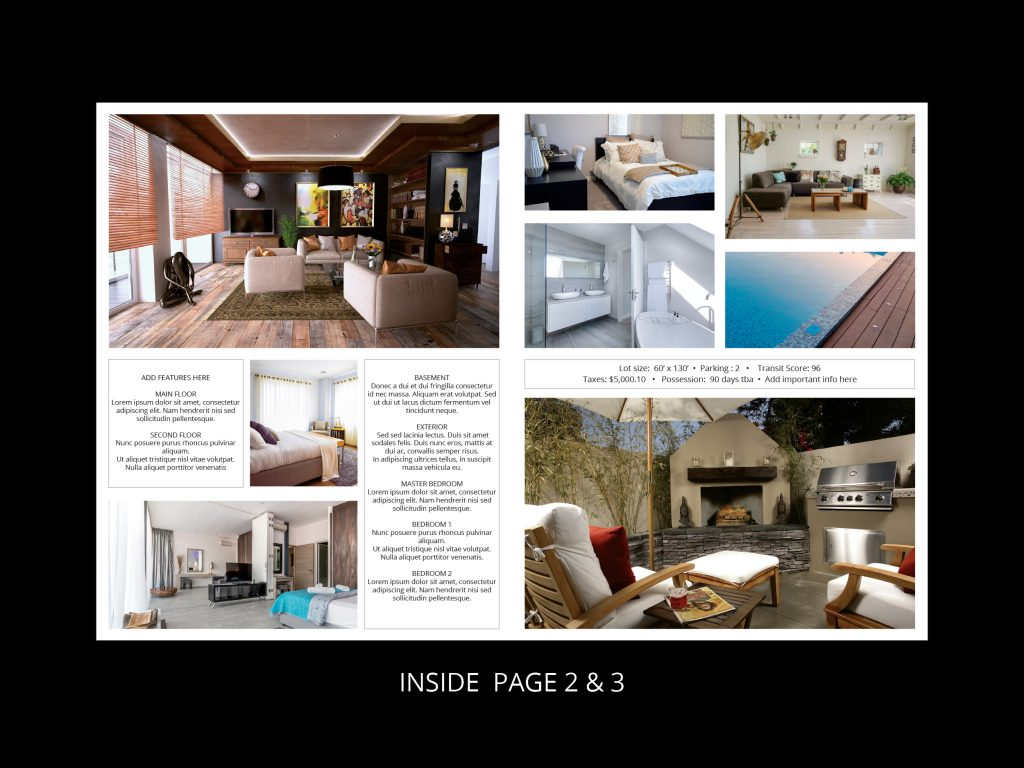 feature sheet folded template 2 - interior