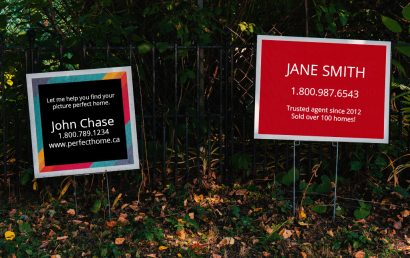 yard signs toronto