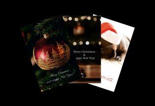 christmas card portrait samples