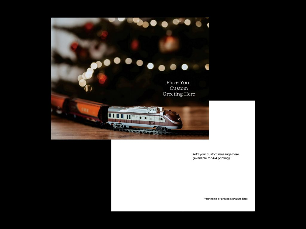 christmas card portrait template 3