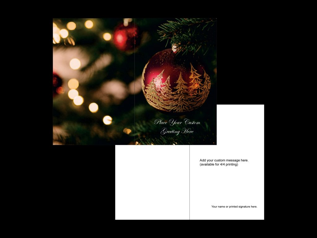 christmas card portrait template 1