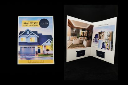 real estate and same day presentation folder printing
