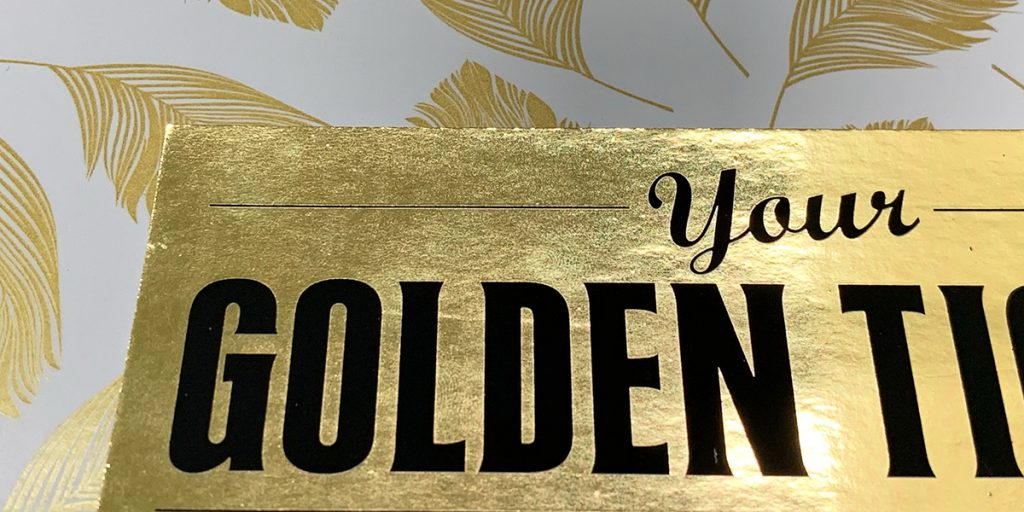 what's the difference between gold foil or gold print
