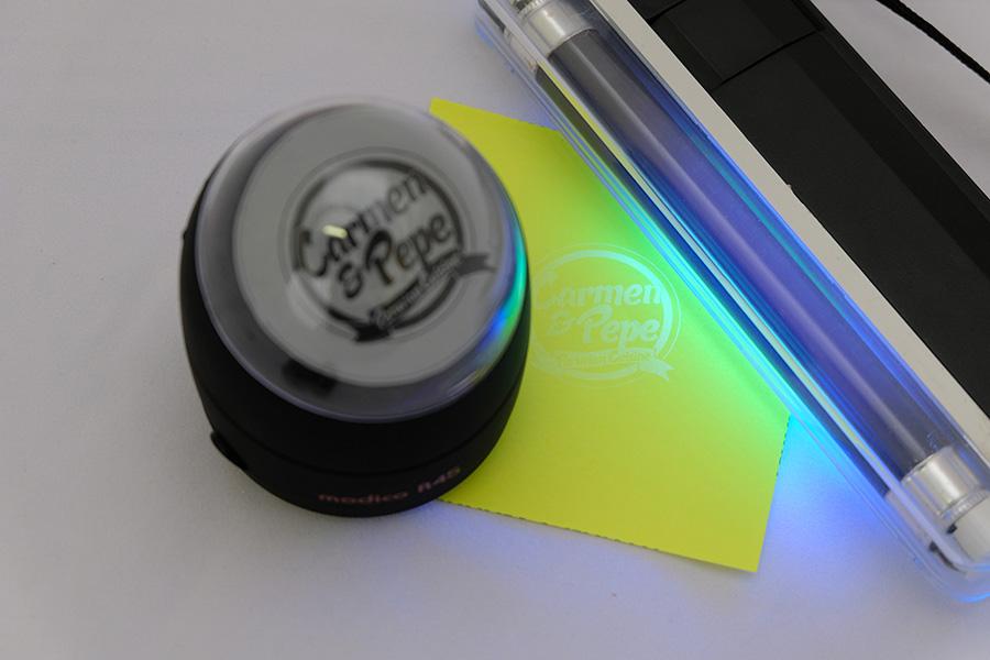 uv black light stamp