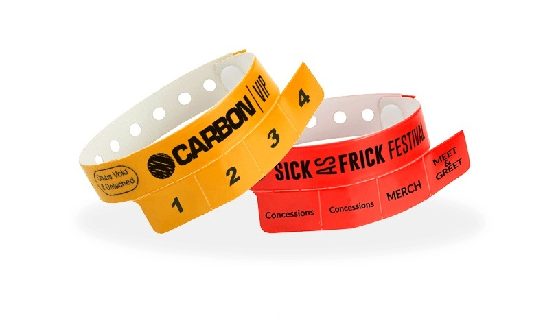Wristbands & Stubs Combo